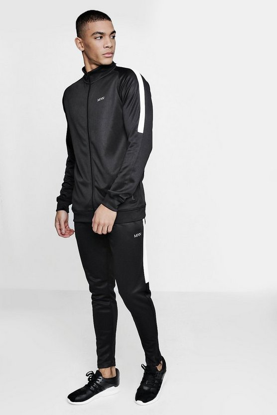 Active Skinny Funnel Gym Tracksuit