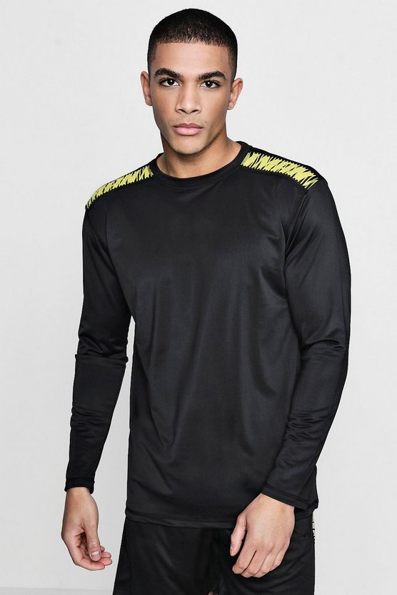 Active Long Sleeve Gym Top