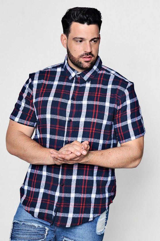 Big And Tall Short Sleeve Shirt