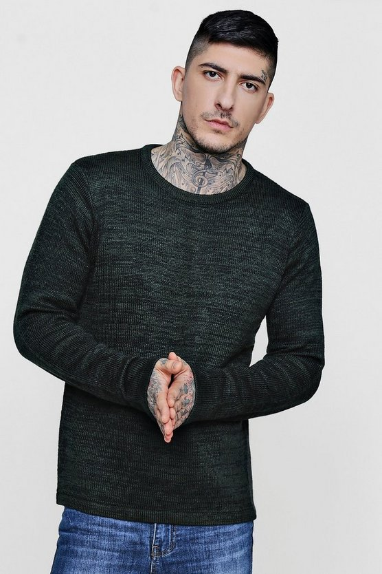 Slouchy Crew Neck Knit