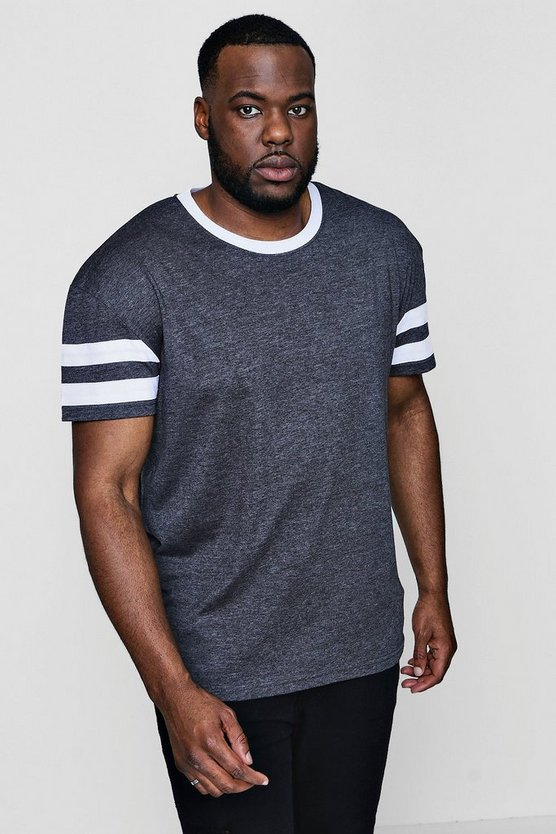 Big And Tall Contrast T-Shirt
