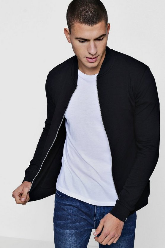 Muscle Fit Jersey Bomber