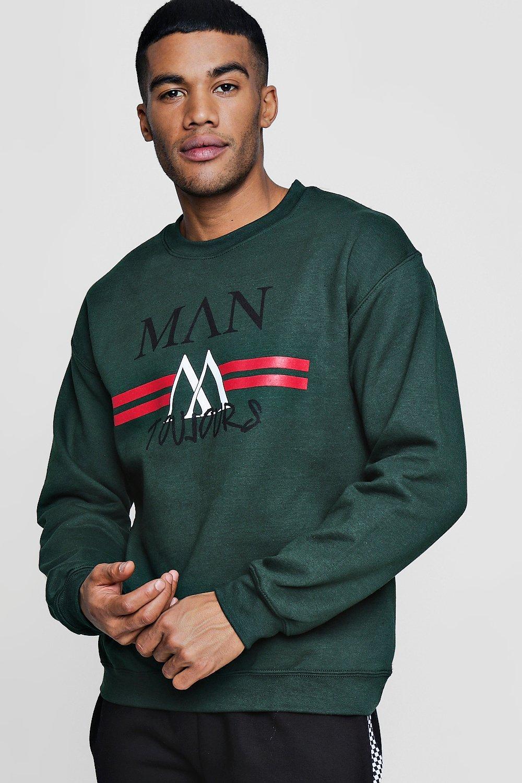 MAN Toujours Stripe Sweater