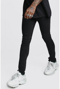 Mens Black Skinny Fit Jeans