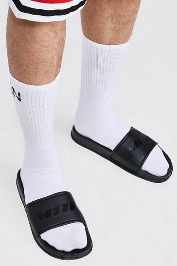 Black Active MAN Sports Slider