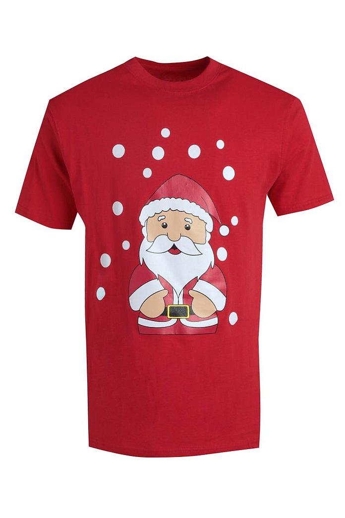 Christmas Santa T Shirt   boohooMAN Australia