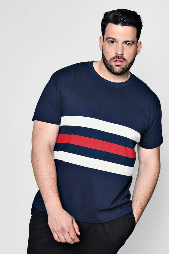 Big And Tall Stripe T-Shirt