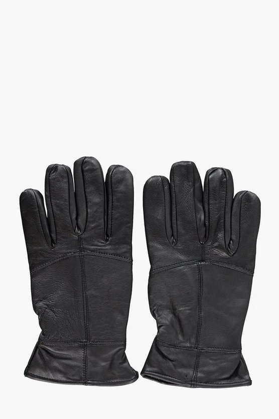 Mens Thinsulate Leather Gloves