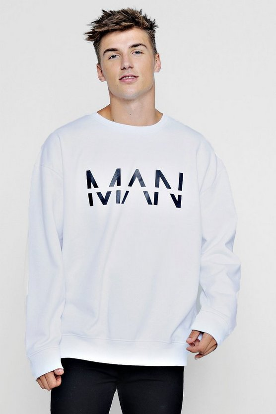 Oversized Large MAN Dash Sweater