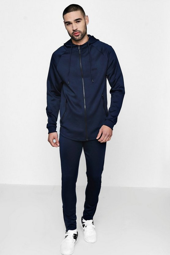Muscle Fit MAN Tracksuit In Tricot