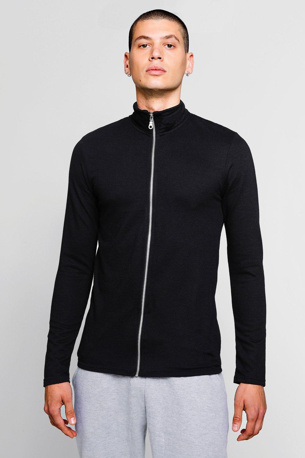 Muscle Fit Lightweight Track Jacket