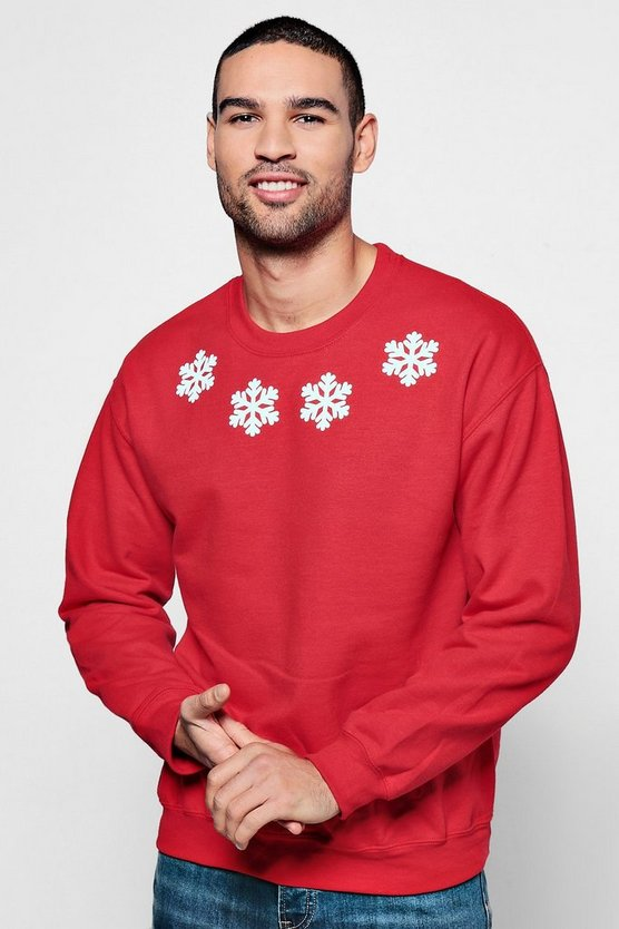 Christmas Snow Flake Jumper