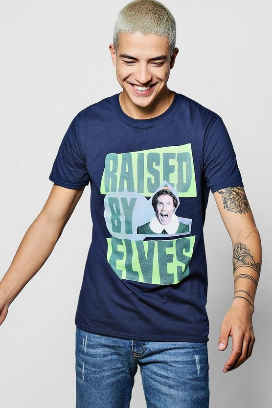 Raised By Elves License T Shirt