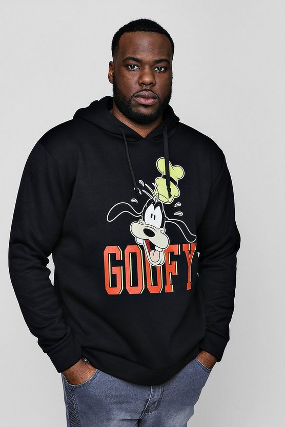 Big And Tall Disney Goofy Over The Head Hoodie