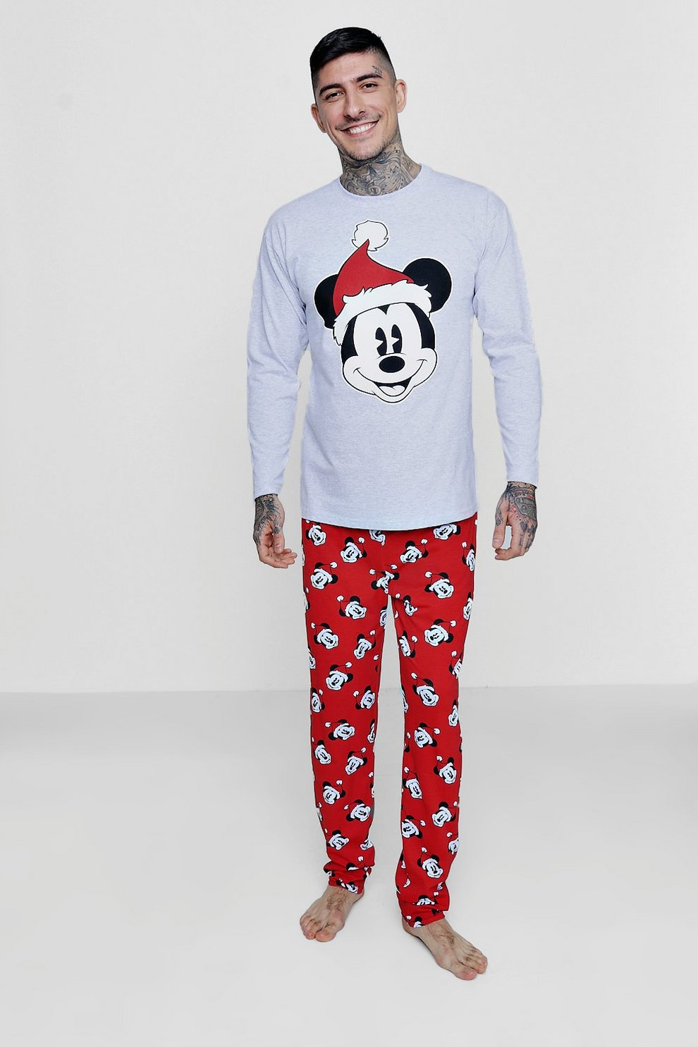disney mickey christmas pyjamas