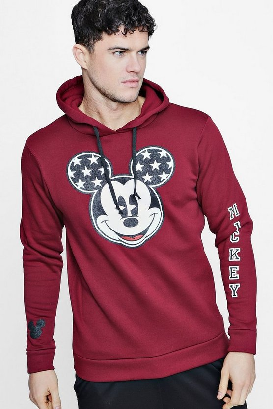 Disney Mickey Over The Head Hoodie
