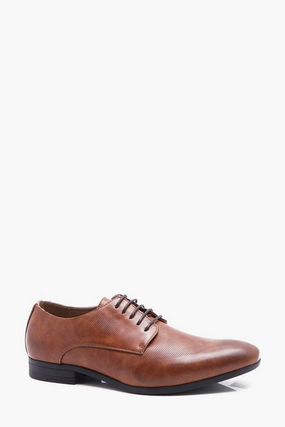 Smart Shoe With Brogue Punch Detail