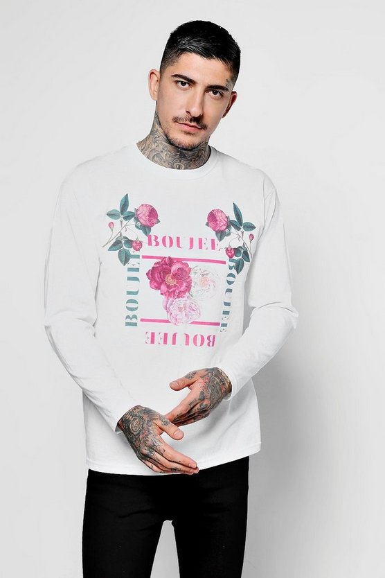 Long Sleeve Boujee Floral T-Shirt