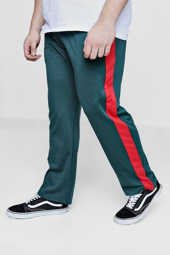 Big And Tall Panelled Joggers