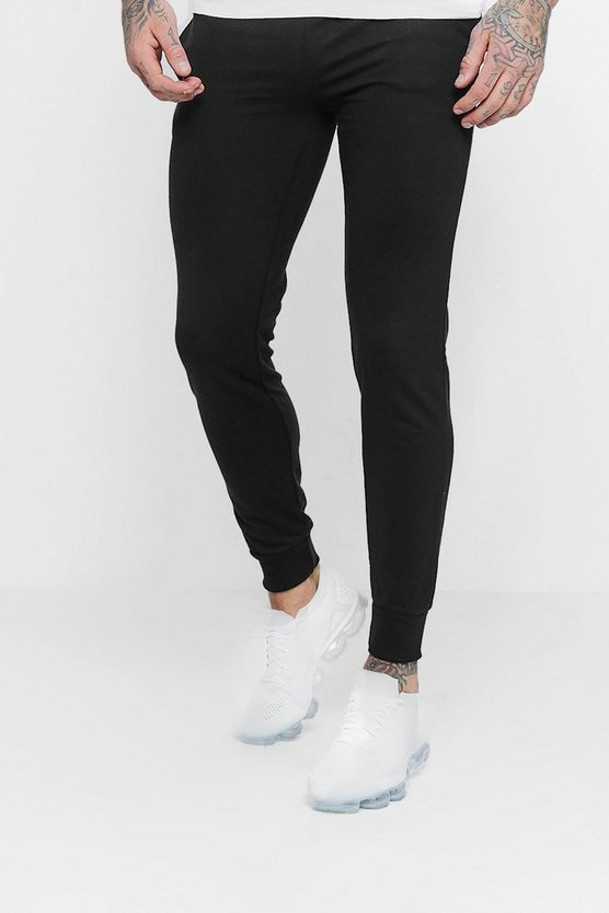 Skinny Fit Basic Fleece Joggers