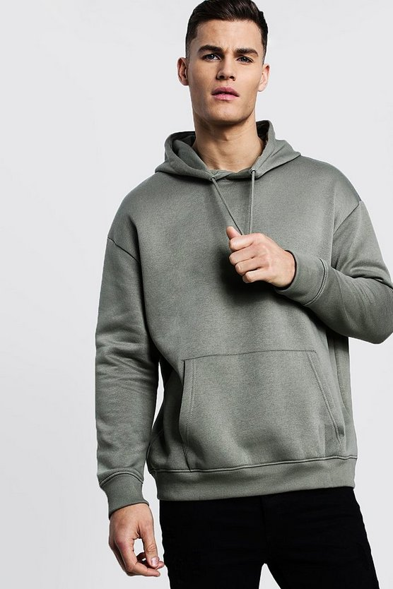 Fleece Oversized Over The Head Hoodie