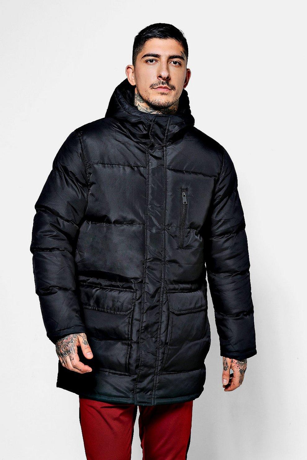 cea0dba31 Long Line Puffer Jacket