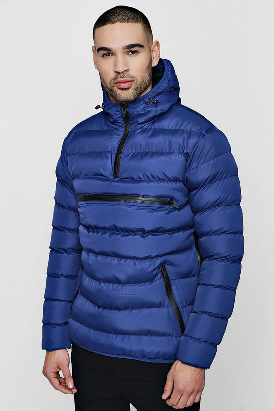 Over The Head Puffer Jacket