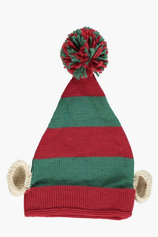 Knitted Elf Hat
