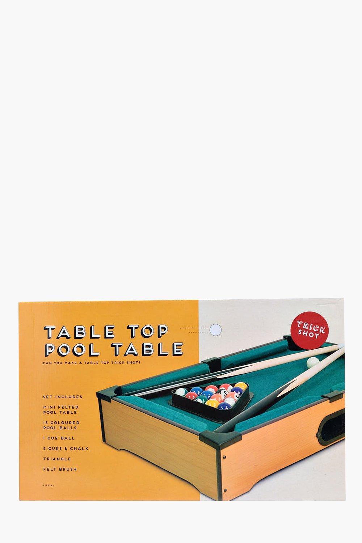 Table Top Pool Table   Boohoo