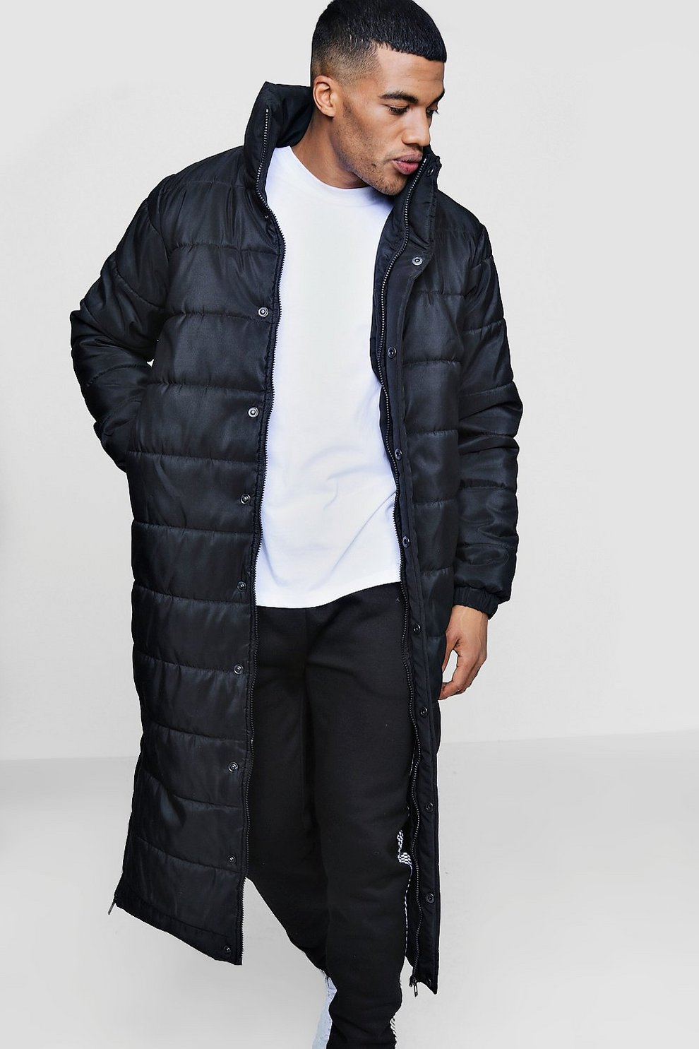 bddef615e Longline Puffer Coat