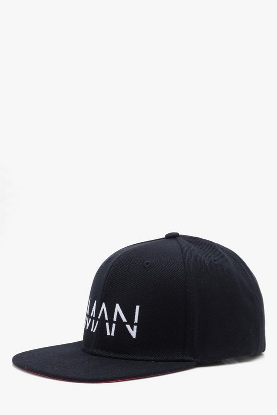 MAN Embroidered Snap Back