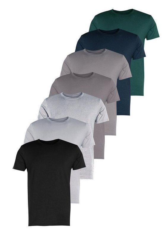 7 Pack Slim Fit T-shirt