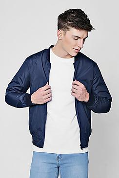 Sports Rib Bomber Jacket