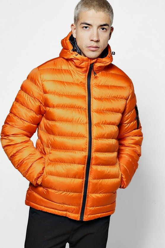 Hooded Quilted Puffer