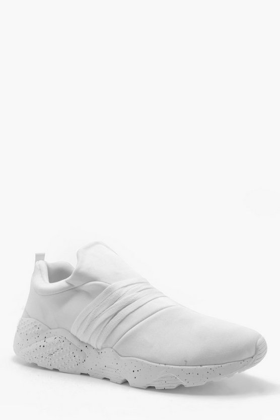 Slip On Speckled Sole Trainer