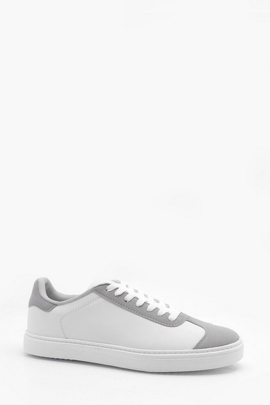 Classic Cupsole Trainer, White, МУЖСКОЕ