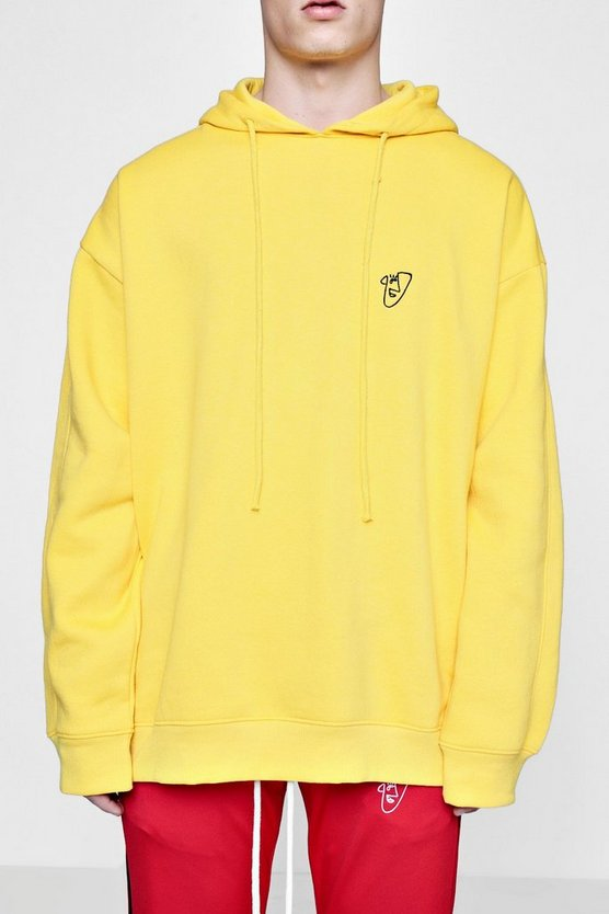 Collection Tyga Hoodie surdimensionné brodé