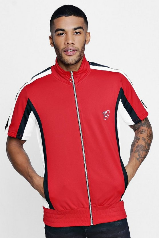 Short Sleeve Track Top