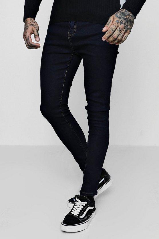 Indigo Spray On Skinny Jeans