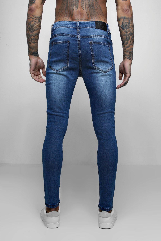 Azul azul skinny skinny rociados Jeans azul rociados Azul skinny azul rociados Jeans Jeans IIp0xCwq