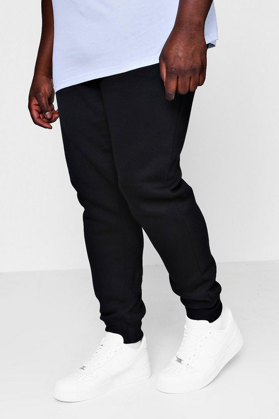 Big And Tall Elongated Drawcord Jogger
