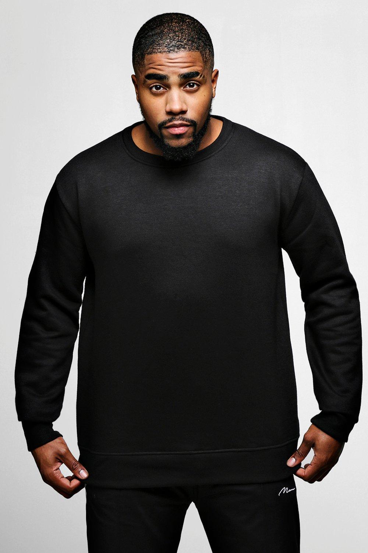 Big And Tall Basic Fleece Sweater