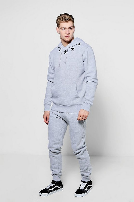 Over The Head Star Embroidered Tracksuit