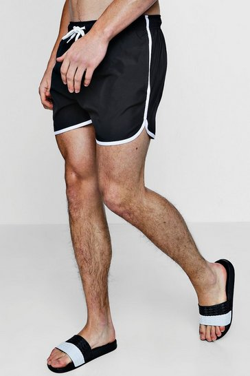 Mens Runner Swim Shorts
