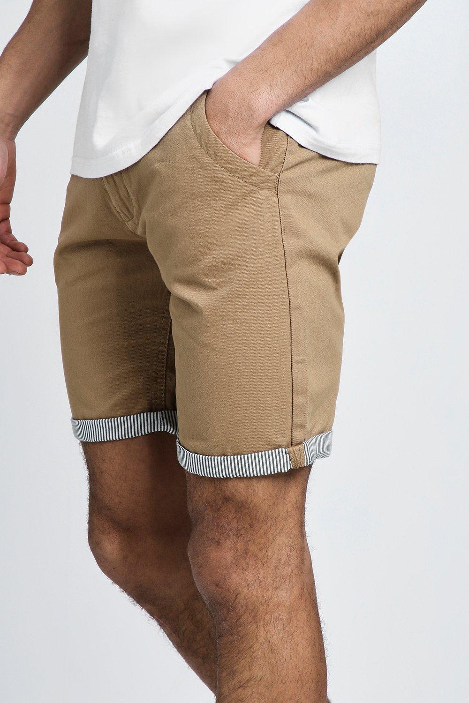 Shorts With Turn Chino Up stone Stripe fwz1Cq
