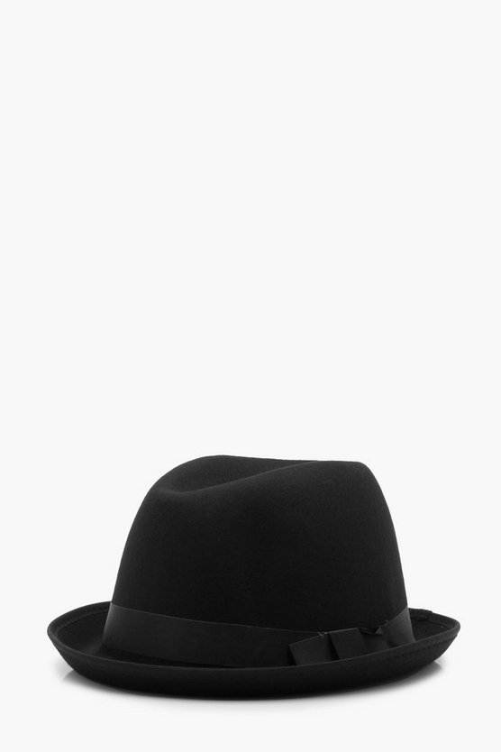Wool Look Trilby