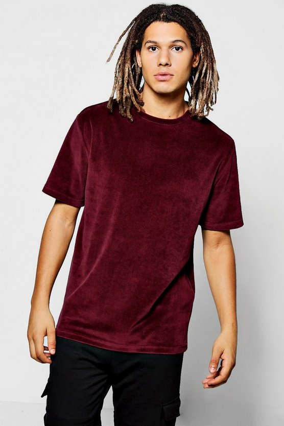 Plain Velour T-Shirt