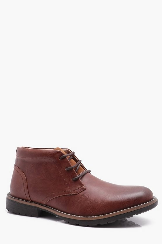 Borg Lined Chukka Boot