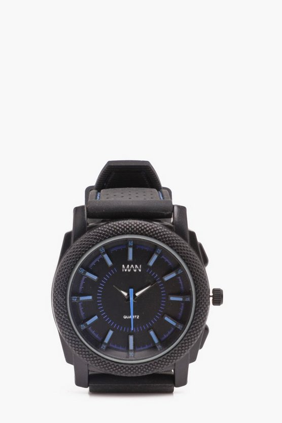 All Black Sports Watch