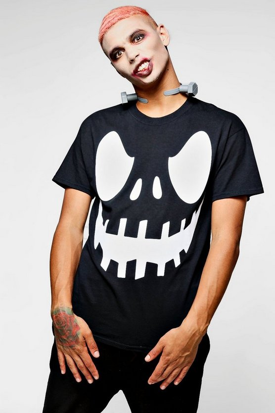 Halloween  Scary Face T-Shirt